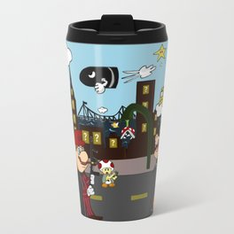 Mario Mafia (Day Time Version) Travel Mug