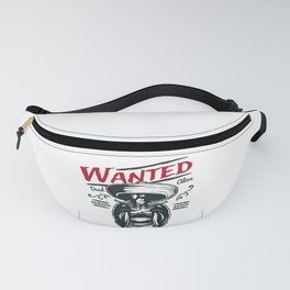 Wanted Dead or Alive Fanny Pack