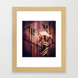 The seeping Framed Art Print