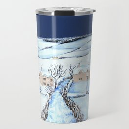 Winter in the Cotswolds Travel Mug
