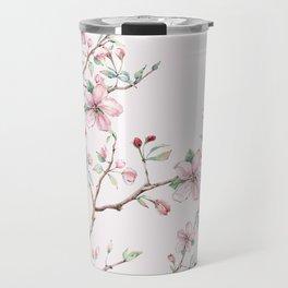 Apple Blossom Pink #society6 #buyart Travel Mug