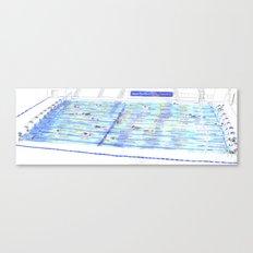 Swimming Pool 01 Canvas Print