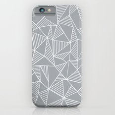Abstraction Lines Grey Slim Case iPhone 6