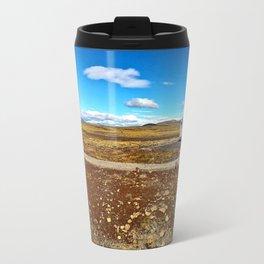 Rest Stop on Iceland's Golden Circle Panorama (2) Travel Mug