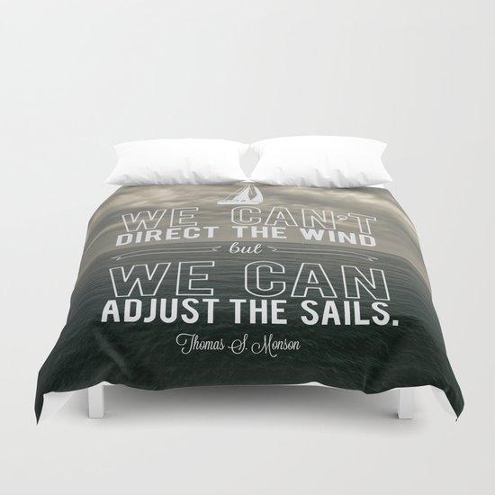 Adjust the sails Duvet Cover