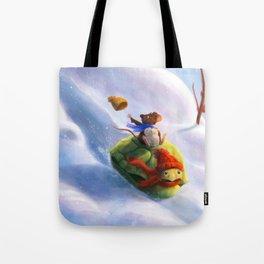 Otto & Fredi: Winterfun 1 Tote Bag