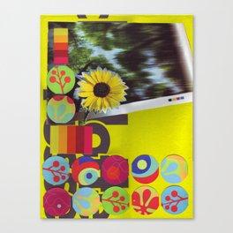 Neon Pallette Canvas Print
