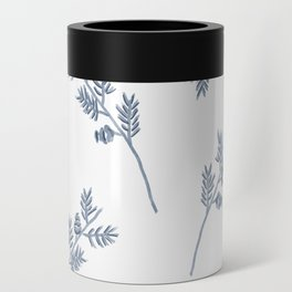 Branches in Blue Can Cooler