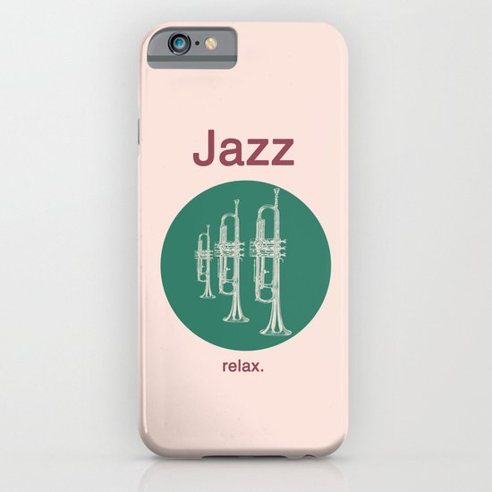 Jazz Relax iPhone & iPod Case