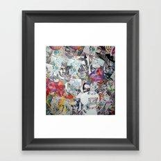 WHATEVER (PROPAGANDA) Framed Art Print