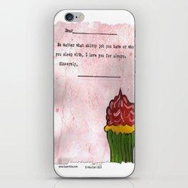 No Matter What iPhone Skin