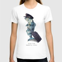 sandra dieckmann T-shirts featuring The Pilot by Eric Fan