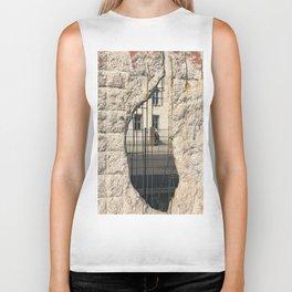 Berlin Wall - Looking Through From Freedom Biker Tank