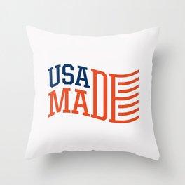 USA MADE Throw Pillow