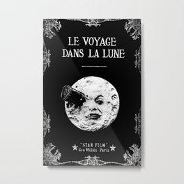 A Trip To The Moon Georges Méliès Metal Print