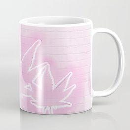 Pink Neon Mary Jane Coffee Mug