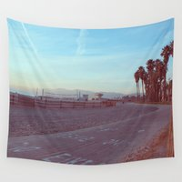bikes Wall Tapestries featuring Bikes Only in Venice, California by Amy J Smith Photography