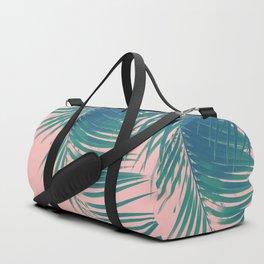 Palm Leaves Blush Summer Vibes #2 #tropical #decor #art #society6 Duffle Bag
