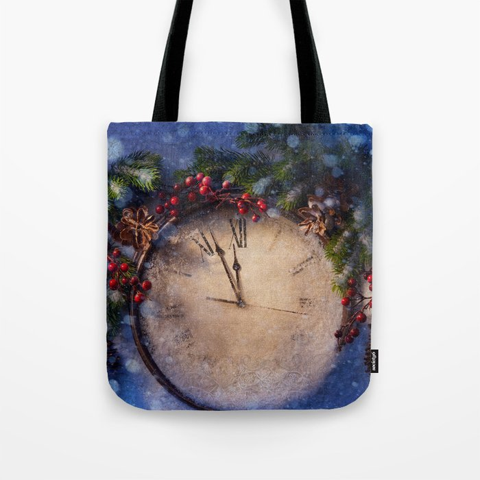 Frozen time winter wonderland Tote Bag
