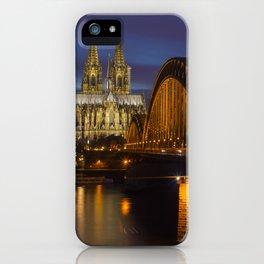 Hohenzollernbrücke, Köln iPhone Case