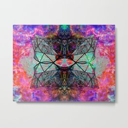 It's Complicated V. 2: Electric Metal Print