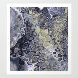 Shadowy Cells Art Print