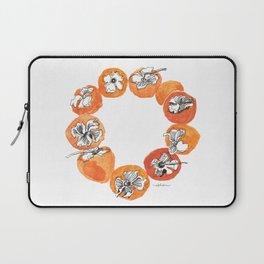 Persimmon Wreath Laptop Sleeve