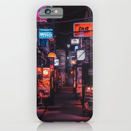 Golden Gai Tokyo Bar Crawl iPhone Case