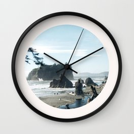Washington state coast Wall Clock
