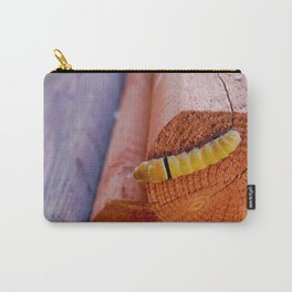 Caterpillar On The Side Carry-All Pouch