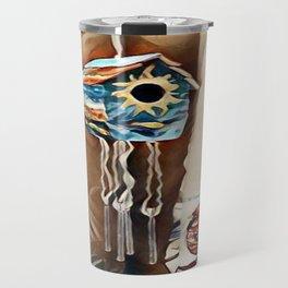 """"""" Birdhouse Wind Chime """" Travel Mug"""