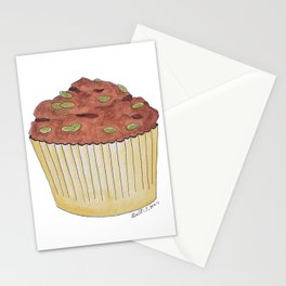 M is for Muffin Stationery Cards
