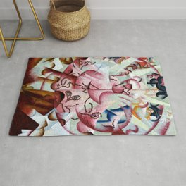 Dancer at Pigalle by Gino Severini Rug