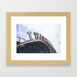 Twister Framed Art Print