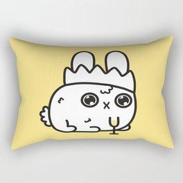New Year bunny Rectangular Pillow