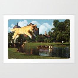 Predator & Prey Art Print