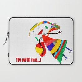 fly with me... Laptop Sleeve