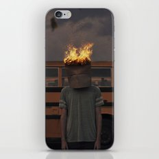 Burning thoughts  iPhone & iPod Skin