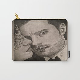 """""""No more secrets"""" FiftyShades Darker Carry-All Pouch"""
