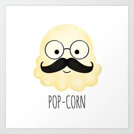 Pop-corn Art Print
