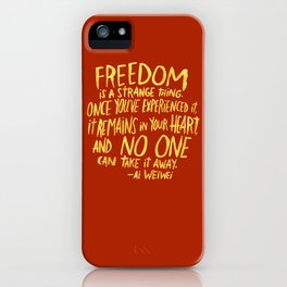 AI WEIWEI iPhone Case