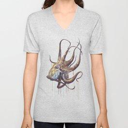 He'e - Octopus Unisex V-Neck