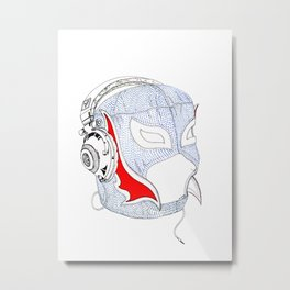 Lucha  Metal Print