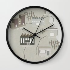 City Travels Wall Clock