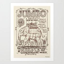 Jumbo #09 Art Print