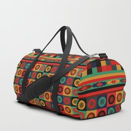 Colorful Bohemian Patchwork Duffle Bag