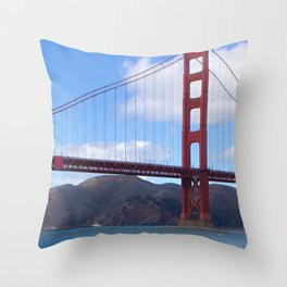 Golden Gate Bridge San Francisco Ca Throw Pillow