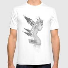 Architect Mens Fitted Tee MEDIUM White