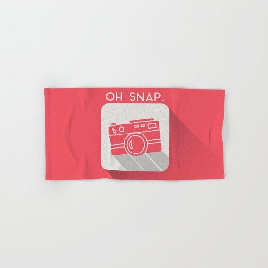 Oh, Snap. Hand & Bath Towel