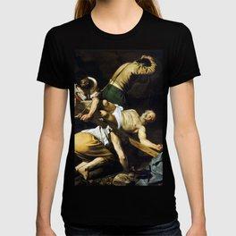 Caravaggio Crucifixion of Saint Peter T-shirt